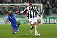 "Fabio Quagliarella Juventus Ashley Cole Chelsea<br /> Torino 20/11/2012 Stadio ""Juventus""<br /> Football Calcio UEFA Champions League 2012/13<br /> Juventus v Chelsea<br /> Foto Insidefoto Paolo Nucci"