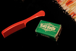soap and comb