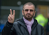 Ringo Starr pictured outside St. George's Hall in Liverpool where he will be performing at the opening ceremony and concert for 2008 European Capital of Culture. The former Beatles drummer was the main attraction at an open air event in the city centre which kicked off a year of cultural and arts events. Liverpool was the first British city since Glasgow in 1990 to be a Capital of Culture.