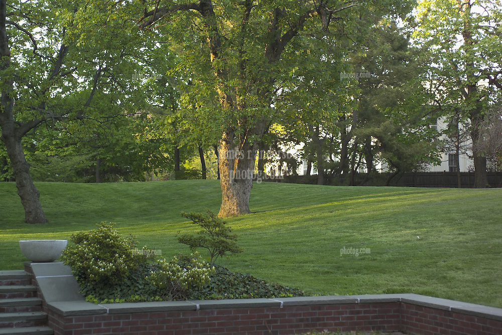 Yale University Presidents Home at 43 Hillhouse Avenue, New Haven, CT