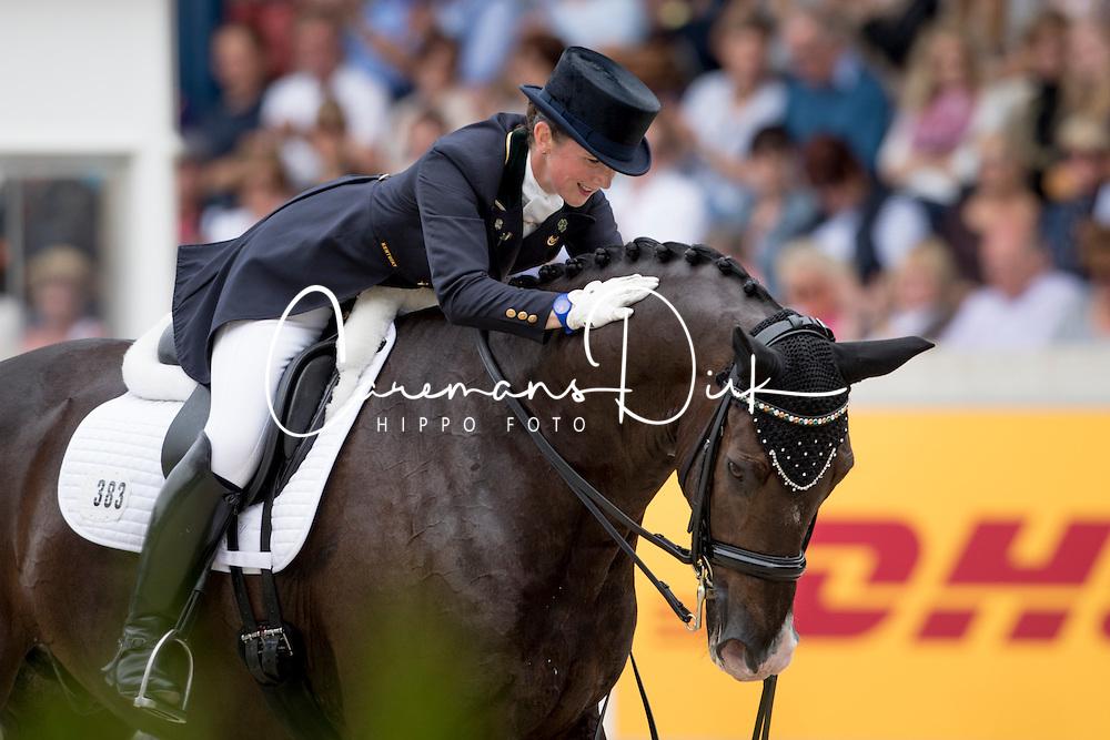 Reynolds Judy, (IRL), Vancouver K<br /> Grand Prix Kür - Deutsche Bank Preis<br /> CHIO Aachen 2016<br /> © Hippo Foto - Dirk Caremans<br /> 17/07/16
