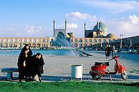 Iran, Ispahan, Mosque Sheikh Loftollah, Place de l'Imam // Sheikh Loftollah mosque, Imam square, Esfahan, Iran
