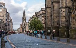 THEMENBILD - Die Tron Kirk Kirche in Edinburghs High Street an der königlichen Meile, Edinburgh, Schottland, aufgenommen am 06. Juni 2015 // The Tron Kirk in Edinburgh's High Street at the royal mile, Edinburgh, Scotland on 2015/06/06. EXPA Pictures © 2015, PhotoCredit: EXPA/ JFK