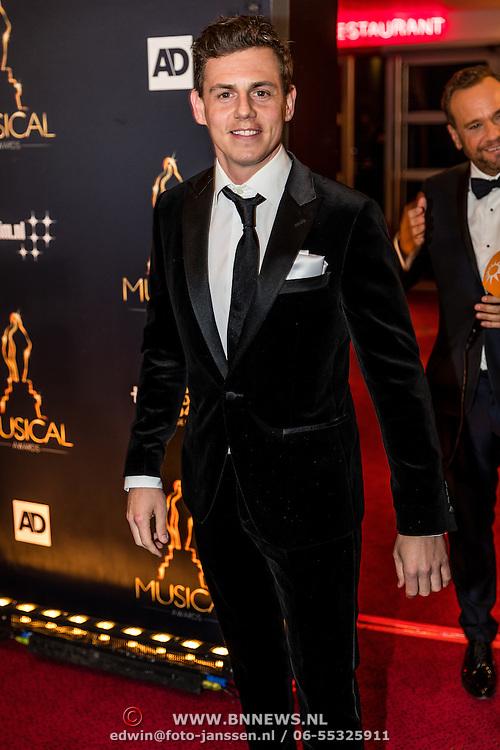 NLD/Utrecht/20170112 - Musical Awards Gala 2017, Mike Weerts