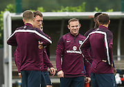 01 September 2014 - International Friendly - England Training Session - Captain, Wayne Rooney surrounded by the England squad - Photo: Marc Atkins / Offside.