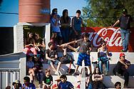 Spectators at the UCI BMX Supercross World Cup in Santiago del Estero, Argintina.
