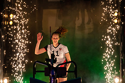 Eline Gommans of Apollo 8 during the cupfinal between Laudame Financials VCN vs. Apollo 8 on April 05, 2021 in sports hall MartiniPlaza, Groningen
