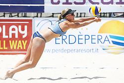 20140607 ITA: EK Beachvolleybal, Cagliari<br /> Marleen van Iersel<br /> ©2014-FotoHoogendoorn.nl / Pim Waslander