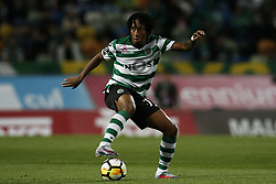 October 22, 2017 - Lisbon, Portugal - Sporting's forward Gelson Martins in action  during Primeira Liga 2017/18 match between Sporting CP vs GD Chaves, in Lisbon, on October 22, 2017. (Credit Image: © Carlos Palma/NurPhoto via ZUMA Press)