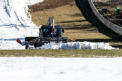 at preparation of Planica Hill 3 weeks before FIS Ski Flying World Championships 2020, on November 22, 2020 in Planica, Slovenia. Photo by Matic Klansek Velej / Sportida