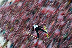 Poland, Zakopane - 2018 January 28: Peter Prevc from Slovenia soars through the air 18th World Cup Competition Men's HS140 Large Hill Individual during FIS Ski Jumping World Cup Zakopane 2017/2018 - Day 3 at Wielka Krokiew jumping hill on January 28, 2018 in Zakopane, Poland.<br /> <br /> Mandatory credit:<br /> Photo by © Adam Nurkiewicz<br /> <br /> Adam Nurkiewicz declares that he has no rights to the image of people at the photographs of his authorship.<br /> <br /> Picture also available in RAW (NEF) or TIFF format on special request.<br /> <br /> Any editorial, commercial or promotional use requires written permission from the author of image.
