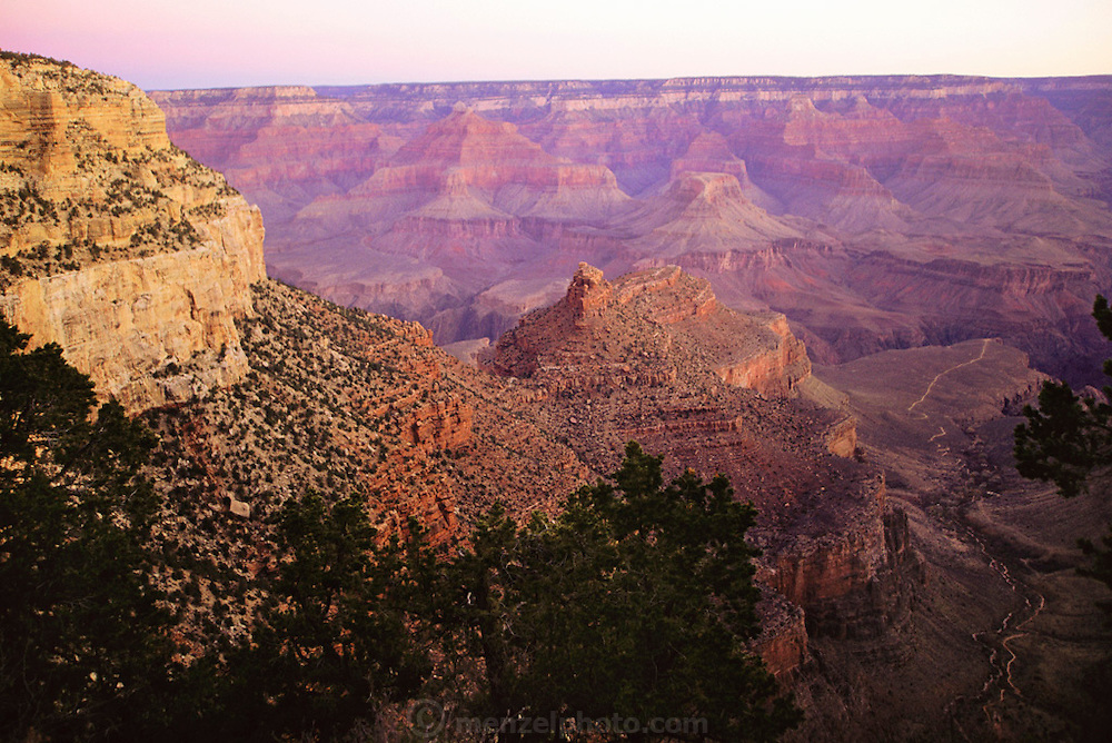 Grand Canyon, Arizona. Grand Canyon National Park encompasses 1,218,375 acres and lies on the Colorado Plateau in northwestern Arizona. USA.