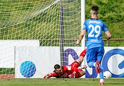 Igor Vekic of Bravo during football match between NK Bravo and NK Domzale in 28th Round of Prva liga Telekom Slovenije 2020/21, on April 17, 2021 in Sports park ZAK, Ljubljana, Slovenia. Photo by Vid Ponikvar / Sportida