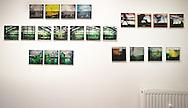 """""""Tag der offenen Ateliers""""  Große Bergstraße 160 KulturEtage Altona. 22767 Hamburg. Serie Hamburg Homage  2015.                                                  C-Print auf eine MDF-Platte mit einer Stärke von 5 mm gebracht und mit einer besonderen Schicht aus Wachs versiegelt.<br /> Format: 20 cm x 20 cm.                      ©Nero Pécora"""