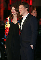 Jools Oliver and Jamie Oliver at the European Premiere of Eddie the Eagle, London, Britain, 17.03.2016, 17.03.2016. EXPA Pictures © 2016, PhotoCredit: EXPA/ Photoshot/ James Shaw/Photoshot<br /> <br /> *****ATTENTION - for AUT, SLO, CRO, SRB, BIH, MAZ, SUI only*****