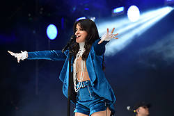 Camila Cabello during Capital's Summertime Ball with Vodafone at Wembley Stadium, London. This summer's hottest artists performed live for 80,000 Capital listeners at Wembley Stadium at the UK's biggest summer party. Performers included Camila Cabello, Shawn Mendes, Rita Ora, Charlie Puth, Jess Glyne, Craig David, Anne-Marie, Rudimental, Sean Paul, Clean Bandit, James Arthur, Sigala, Years & Years, Jax Jones, Raye, Jonas Blue, Mabel, Stefflon Don, Yungen and G-Eazy