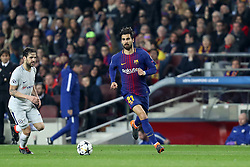 March 14, 2018 - Barcelona, Spain - ANDRE GOMES of FC Barcelona during the UEFA Champions League, round of 16, 2nd leg football match between FC Barcelona and Chelsea FC on March 14, 2018 at Camp Nou stadium in Barcelona, Spain (Credit Image: © Manuel Blondeau via ZUMA Wire)