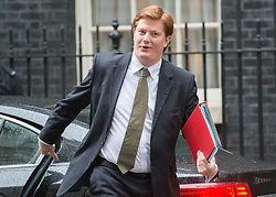© Licensed to London News Pictures. 18/11/2014. Westminster, UK. Danny Alexander Chief Secretary to the Treasury.  Ministers and MP's on Downing Street 18th November 2014. Photo credit : Stephen Simpson/LNP