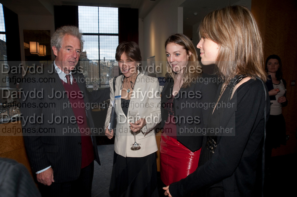 WILLIAM WALDEGRAVE; CAROLINE WALDEGRAVE; TANYA VON PREUSSEN; LISA WALDEGRAVE, Literary charity First Story fundraising dinner. Cafe Anglais. London. 10 May 2010. *** Local Caption *** -DO NOT ARCHIVE-© Copyright Photograph by Dafydd Jones. 248 Clapham Rd. London SW9 0PZ. Tel 0207 820 0771. www.dafjones.com.<br /> WILLIAM WALDEGRAVE; CAROLINE WALDEGRAVE; TANYA VON PREUSSEN; LISA WALDEGRAVE, Literary charity First Story fundraising dinner. Cafe Anglais. London. 10 May 2010.