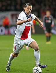 Football: Champions League<br />Zlatan Ibrahimovic (PSG, Paris Saint-Germains)