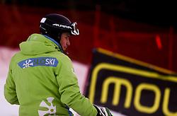 Matic Skube of Slovenia prior to the Men's Slalom - Pokal Vitranc 2014 of FIS Alpine Ski World Cup 2013/2014, on March 9, 2014 in Vitranc, Kranjska Gora, Slovenia. Photo by Matic Klansek Velej / Sportida