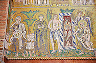 Mosaics of the Virgin Mary from Torcello Byzantine mosaics of the Cathedral Santa Maria Assunta, Venice, Italy