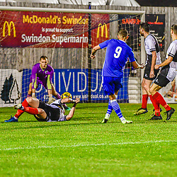 Harry Williams takes a shot on goal Swindon Supermarine Webbswood stadium Swindon Supermarine Swindon Wiltshire England UK 22/09/2020
