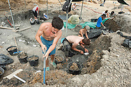 Palaeontological excavations at Angeac, Charente, France (July 2016) © Rudolf Abraham