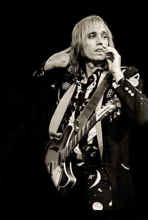 Tom Petty & the Heartbreakers, Pack Up the Plantation Tour, mid 1980s, Houston, Texas