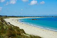 France, Finistère (29), Plouescat, baie de Kernic, // France, Briitany, Finistere, Plouescat, Kernic bay
