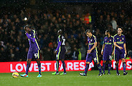 Manchester City's players look on dejected after going 1-0 down<br /> <br /> - Barclays Premier League - Queens Park Rangers vs Manchester City- Loftus Road - London - England - 8th November 2014  - Picture David Klein/Sportimage