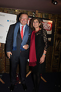 MARGY KINMONTH; RUSSIAN AMBASSADOR TO THE UK Alexander Vladimirovich Yakovenko  Party afterwards at the Royal Academy, Premiere of Revolution, New Art For a New World ,  Curzon cinema , London. 10 Nov 2016