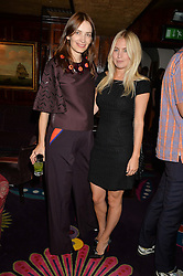 Left to right, ROKSANDA ILINCIC and MARISSA MONTGOMERY at a dinner to celebrate the launch of Genetic - Liberty Ross hosted by Liberty Ross and Ali Fatourechi at Annabel's, 44 Berkeley Square, London on 3rd September 2014.