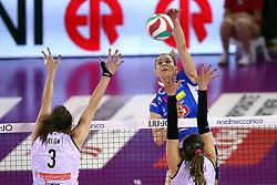11-05-2017 ITA: Finale Liu Jo Modena - Igor Gorgonzola Novara, Modena<br /> Novara heeft de titel in de Italiaanse Serie A1 Femminile gepakt. Novara was oppermachtig in de vierde finalewedstrijd. Door een 3-0 zege is het Italiaanse kampioenschap binnen. / BARUN-SUSNJAR KATARINA<br /> <br /> ***NETHERLANDS ONLY***