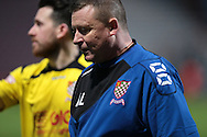 Andy Leese (Chesham) walks off the pitch after the game during the The FA Cup match between Bradford City and Chesham FC at the Coral Windows Stadium, Bradford, England on 6 December 2015. Photo by Mark P Doherty.