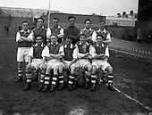 1956 - Soccer: St Patrick's Athletic v Shamrock Rovers at Dalymount Park