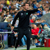 18/09/14 UEFA EUROPA LEAGUE<br /> SALZBURG v CELTIC<br /> RED BULL ARENA - SALZBURG<br /> Celtic Manager Ronny Deila