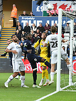 Football - 2018 / 2019 Sky Bet EFL Championship - Swansea City vs. Derby County<br /> <br /> Richard Keogh Derby County scores his team's first goal, at The Liberty Stadium.<br /> <br /> COLORSPORT/WINSTON BYNORTH