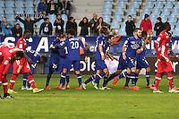Joie Bastia - 03.12.2014 - Bastia / Evian Thonon - 16eme journee de Ligue 1 <br />Photo : Michel Maestracci / Icon Sport