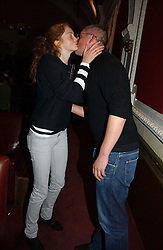 GILES DEACON and LILY COLE at the Grand Classics screening of Manhattan hosted by Giles Deacon at the Electric Cinema, Portobello Road, London W11 on 13th November 2006.<br /><br />NON EXCLUSIVE - WORLD RIGHTS