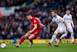 Callum O'Dowda of Bristol City and Liam Cooper of Leeds United - Mandatory by-line: Daniel Chesterton/JMP - 15/02/2020 - FOOTBALL - Elland Road - Leeds, England - Leeds United v Bristol City - Sky Bet Championship