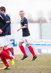 Falkirk's Craig Sibbald cele scoring their second goal..Falkirk 4 v 0 Cowdenbeath, 6/4/2013..©Michael Schofield..