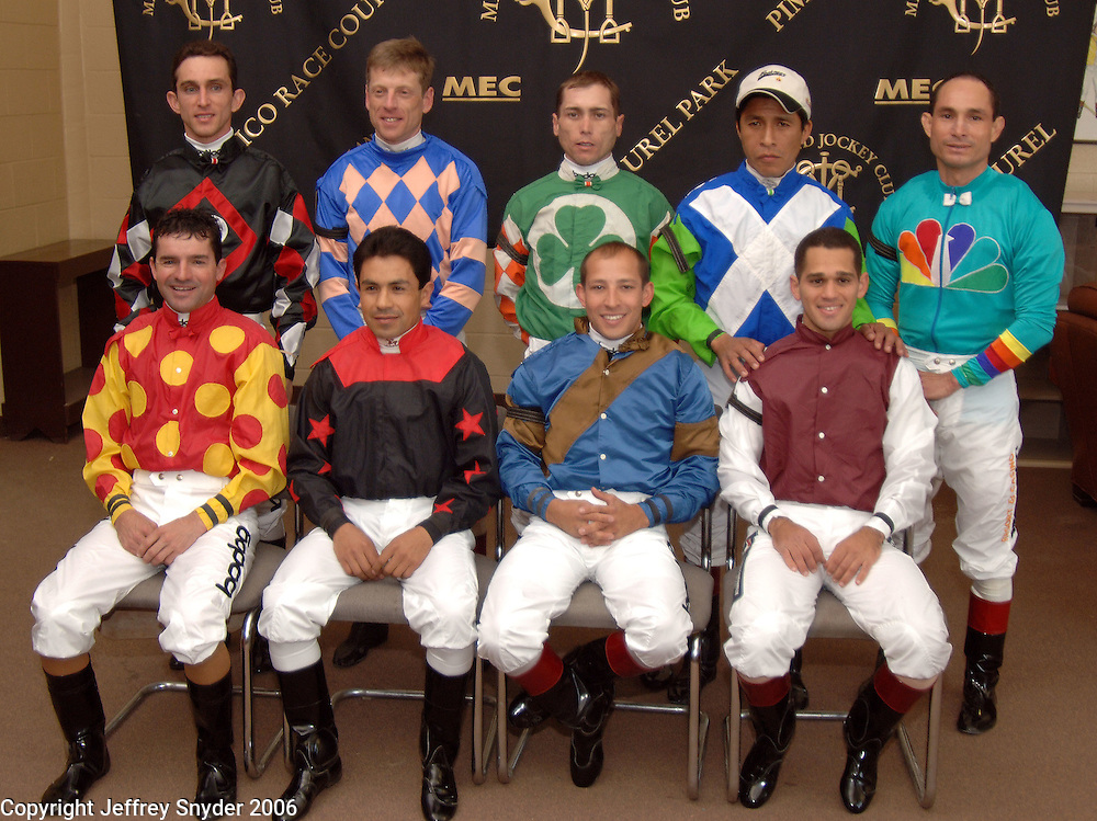 Jockeys of the 132nd Preakness Stakes