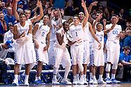 Team.<br /> <br /> The University of Kentucky men's basketball team beat Missouri 86-37 on Tuesday, January 13, 2015, in Lexington's Rupp Arena.<br /> <br /> <br /> Photo by Elliott Hess   UK Athletics