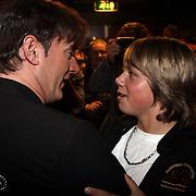 NLD/Uitgeest/20080116 - Uitreiking Popularitiets award Noord Holland 2008, Gerard Joling en Dre Hazes