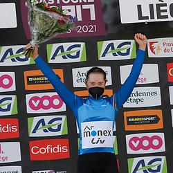 25-04-2021: Wielrennen: Luik Bastenaken Luik (Vrouwen): Luik: Maria Novolodskaia