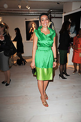 ZAINAB SALBI Iraqi American writer, activist and social entrepreneur who is co-founder and president for Women for Women International at a dinner hosted by Harper's Bazaar to celebrate Browns 40th Anniversary in aid of Women International held at The Regent Penthouses & Lofts, 16-18 Marshall Street, London on 20th May 2010.