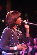 Estelle at The OkayPlayer Hoiliday Jammy presented by OkayPlayer and Frank Magazine held at BB Kings on December 18, 2008 in New York City..The Legendary Roots Crew gives back to fans with All-Star line-up of Special Guests to celebrate upcoming Holiday Season.