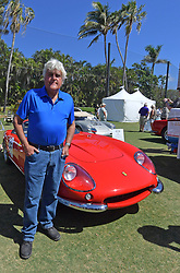 "February 25, 2018 - Boca Raton, Florida, United States Of America - BOCA RATON, FL- FEBRUARY 25: Jay Leno, Wayne Carini and actor Tim Allen judge and host 175 of the finest collector cars and motorcycles from around the country will gather on the show field at the famed Boca Raton Resort & Club. On display at this year's Concours will be an exquisite collection of AACA ""Cars through the Decades,"" and Lincoln-Mercury vehicles.  The judging process will combine a point/percentage system, along with the Modified French Rule evaluation criteria of the cars condition, authenticity/originality, and appeal in the following areas: the vehicle's exterior, its interior area, the engine area, and the overall presentation, visual impact, and significance of the car at the Boca Raton Resort & Club on February 25, 2018 in Boca Raton, Florida...People:  Jay Leno. (Credit Image: © SMG via ZUMA Wire)"