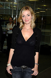 Actress ELIZE DU TOIT at the annual ICAP charity day - where all the trading profit made by City firm ICAP are donated to charity, held at their offices at 2 Broadgate, City of London on 7th December 2005.<br /><br />NON EXCLUSIVE - WORLD RIGHTS